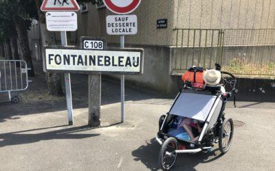 4ème jour : nouvelle étape nouvelles rencontres direction Fontainebleau!
